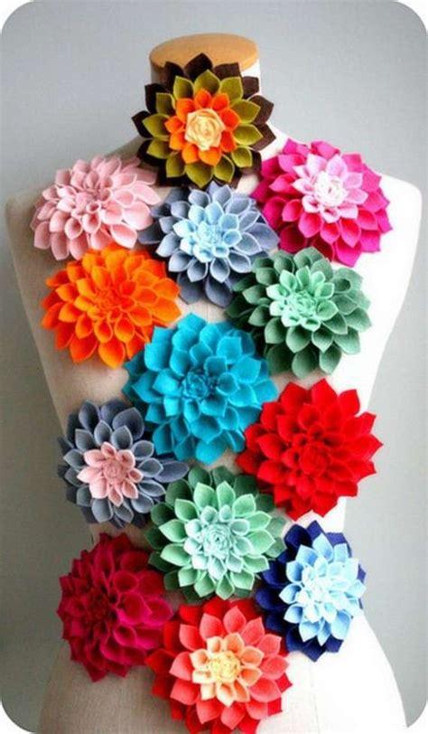fiore feltro fiori in feltro foto tempo libero pourfemme