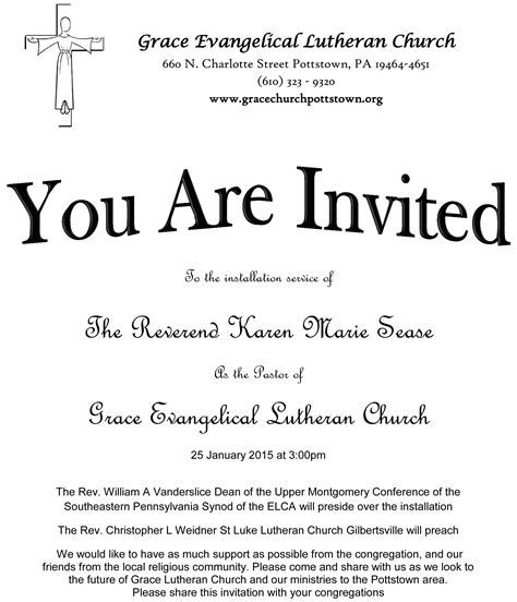 Invitation Letter Class 12 sle church event invitation letter style by