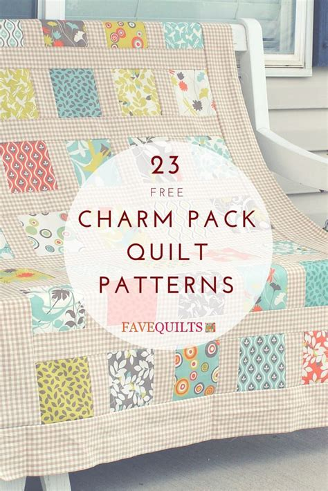 Quilting Charm Pack by The Most Charming 23 Charm Pack Quilt Patterns Charm