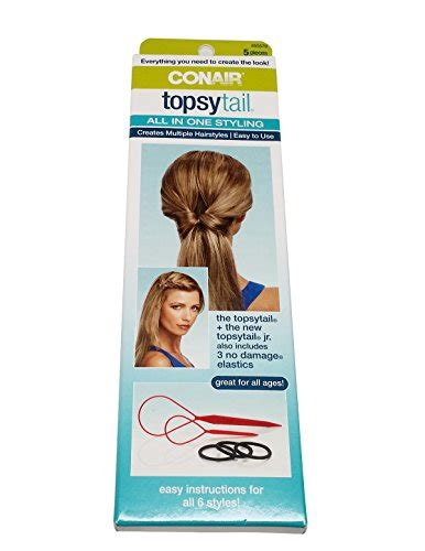 Conair Air Styling Kit by Conair Topsy Hair Styling Kit 5pcs Conair Beautil