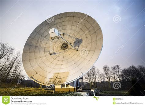 big satellite big satellite dish stock photo image 51178618