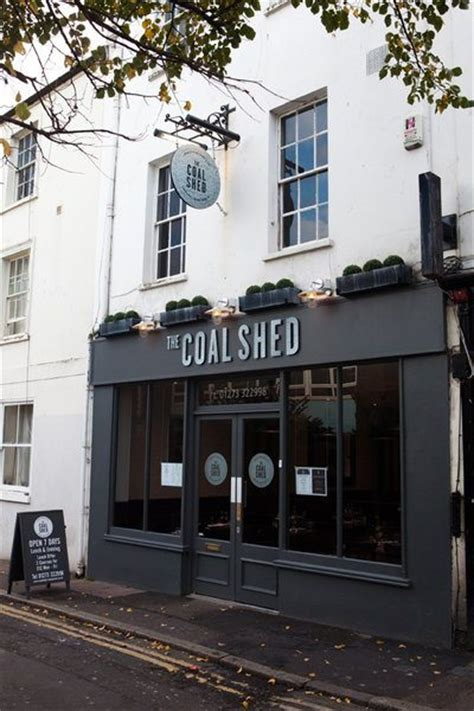 the coal shed brighton restaurant external
