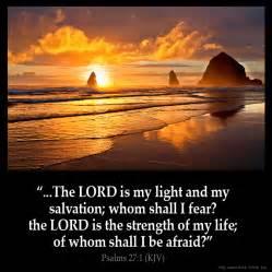 psalms 27 1 inspirational image