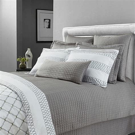 grey coverlet queen buy downtown company urban quilted cotton queen coverlet