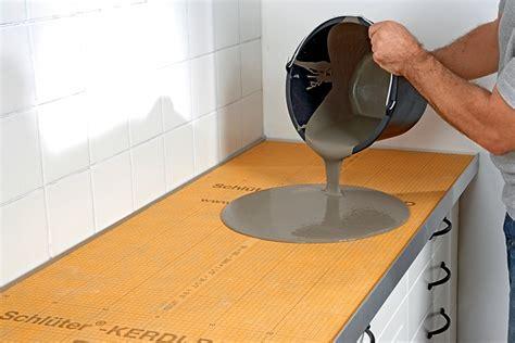 piano di lavoro cucina piani cucina in cemento