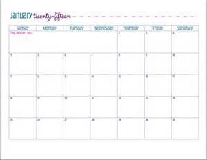 Calendario Mensal Para Imprimir 7 Calend 225 Rios Gratuitos Para Imprimir 2015 Sereismos