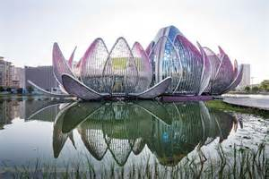 Lotus Building Amazing Building In China The Wujin Lotus Conference