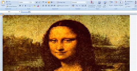 create   excel art  microsoft excel spreadsheet