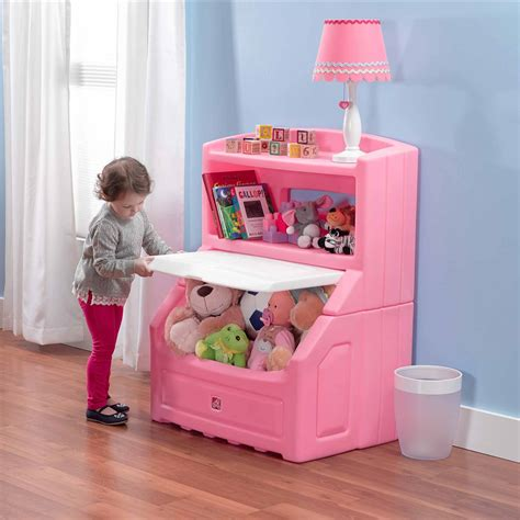 lifthide bookcase storage chest pink red blue toy kids box organizer furniture ebay