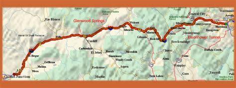 map of i 70 colorado rockies i70 motorcycle ride