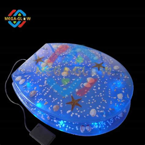 led light toilet seat unique led blue light toilet seat buy decorative toilet