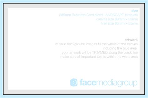 upload image to a blank business card template page uk printed business cards media