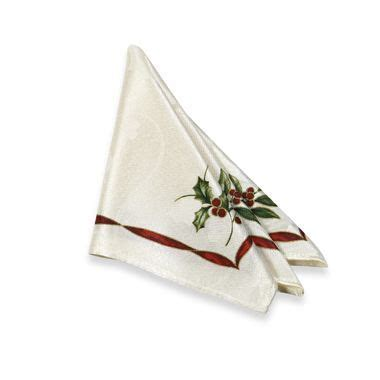 bed bath and beyond napkins christmas laurel cloth napkins from bed bath beyond