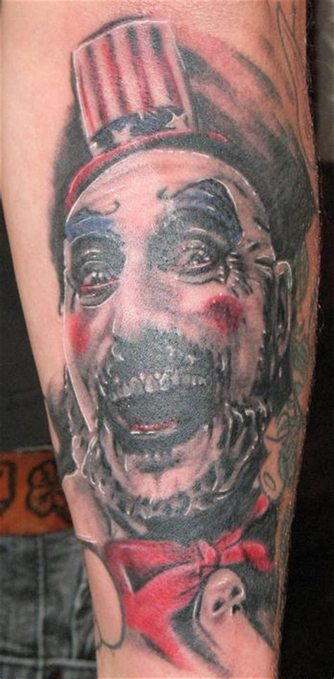 zombie tattoo on leg by graynd tattooimages biz zombie clown tattoo tattooimages biz