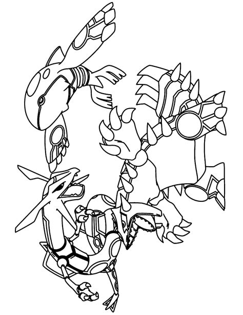 pokemon coloring pages groudon az coloring pages