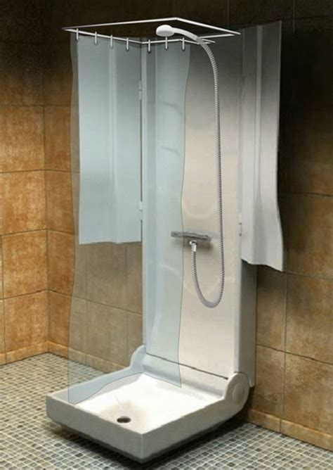 shower curtain for travel trailer folding shower for small spaces travel trailer shower