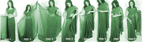 memakai kain sari dayu praguna blog belajar memakai kain sari
