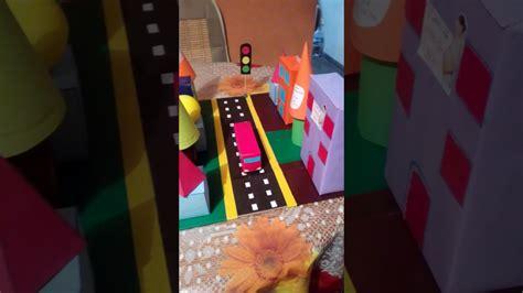 como hacer una maqueta 5 youtube maqueta con figuras geom 233 tricas youtube