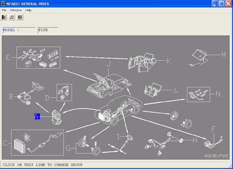 automotive repair manual 2009 infiniti g spare parts catalogs nissan epc el fast