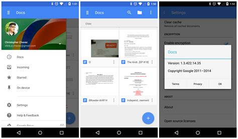 google design update androidreamer google docs and google play games also