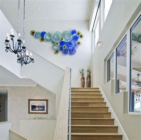 staircase wall design designing staircases with beautiful decorative plate wall