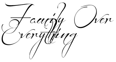 family over everything tattoo family everything 84302 tweb