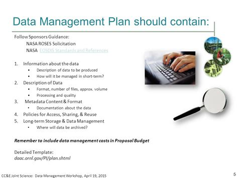Elements Of A Data Management Plan Ppt Video Online Download Data Management Strategy Template