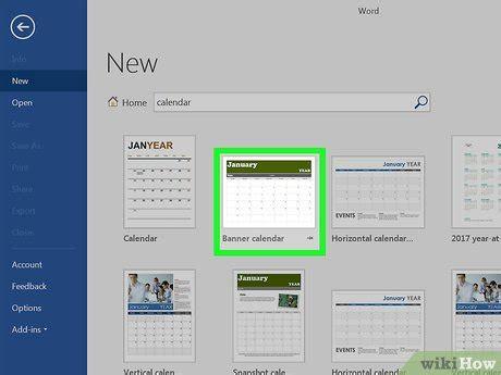 how to make a calendar in word windows 7 c 243 mo hacer un calendario en word 18 pasos con fotos