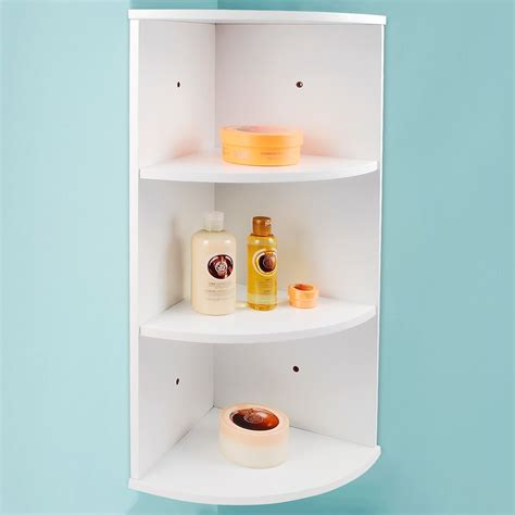 wall mounted bathroom shelving units whiite wooden 3 tier corner wall mounted bathroom storage