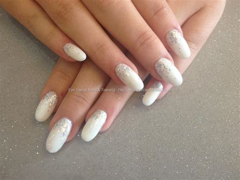 Acrylic Gel white sparkle acrylics images
