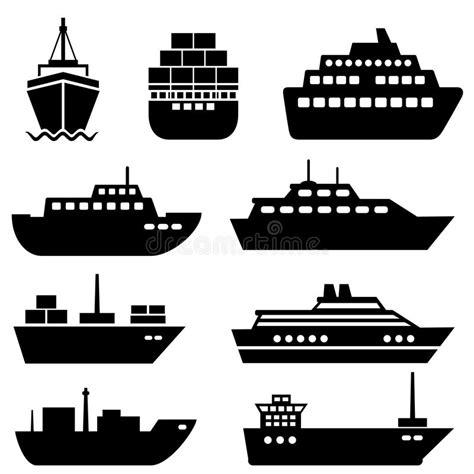 marine boat icon ship and boat icons stock vector illustration of marine