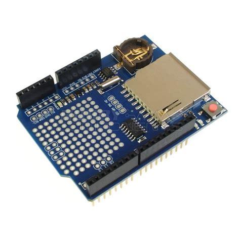 Data Logger Shield For Arduino Data data logger shield hobby components