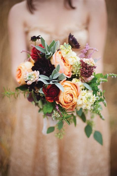 fall wedding flower ideas pictures seasonal autumn wedding flowers ideas