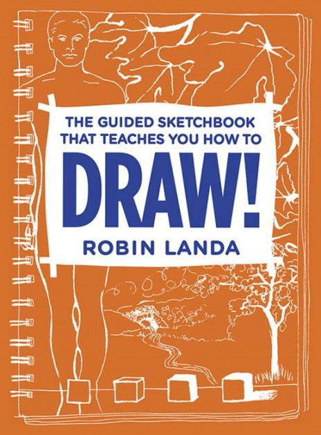 barnes and noble sketchbook the guided sketchbook that teaches you how to draw by