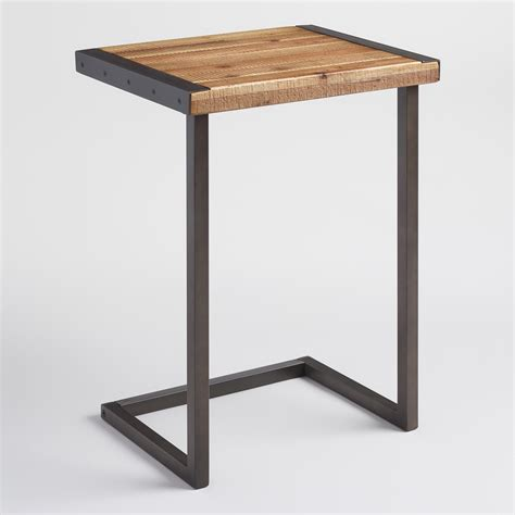 Laptop Table by Metal Edge Laptop Desk World Market
