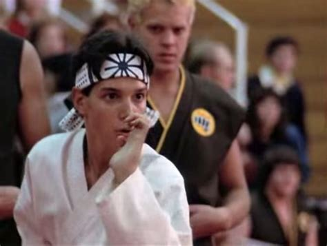 donald trump with kid karate kid songwriter slams trump for using tune ny