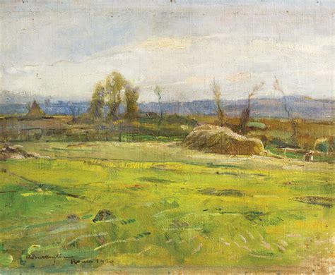 aste di roma veduta di roma dalla cagna 1920 dipinti antichi e