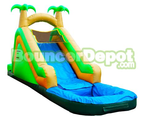 water slide backyard inflatable backyard water slide 15 ft inflatable backyard water slide