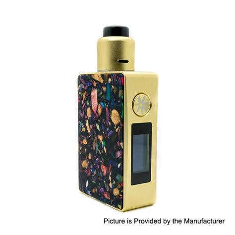 Authentic Asmodus Squonk Mod authentic asmodus spruzza 80w gold mod mosaic oni one rda kit