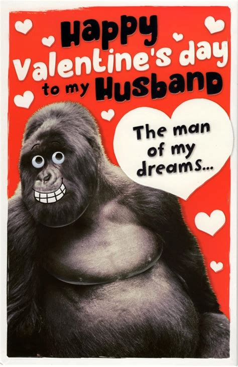 day greetings husband husband beast s day greeting card cards