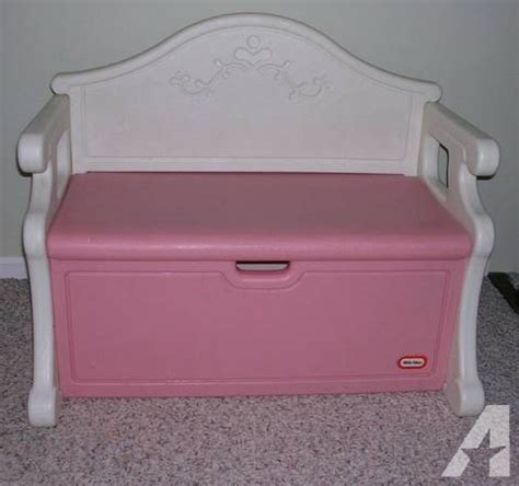 little tikes toy box bench little tikes girls pink white toy box victorian bench