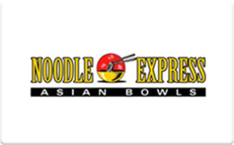 Noodles Gift Card - buy noodle express gift cards raise