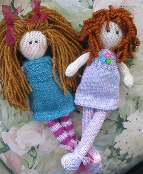 Debbie Bliss Rag Doll Pattern Knitting Animals Toys