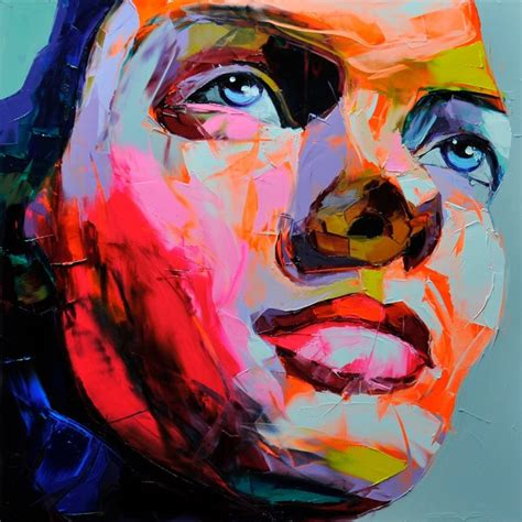 by her latest artwork it appears that nellys thicky thick girl artodyssey francoise nielly