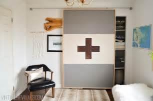 Petite modern life diy fabric sliding door petite modern life