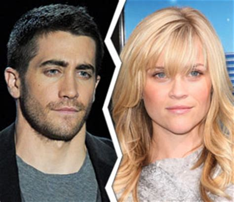 And Reese Split by Jake Gyllenhaal And Reese Witherspoon Split Extratv