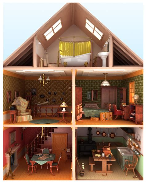 the doll house doll house by fabriciocos on deviantart