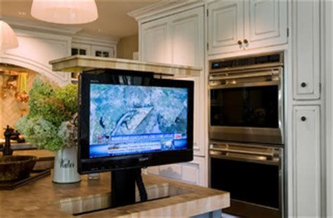 Pop Up Tv That Hides In The Fireplace by Tv Pop Up Tv