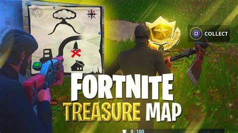 fortnite treasure map treasure map solved treasure challenge