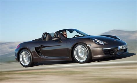 porsche boxster car and driver